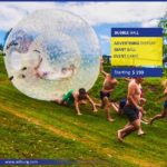 Bubble Soccer (A Fun Bubble Game) is an exciting new sport that works just like normal football with the exception that you are in a Giant Bubble.