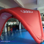 Audi Inflatable Design