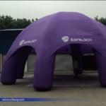 Tent Advertising
